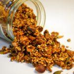 Ontbijt: Home-made granola met quinoa