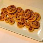 Palmier koekjes met prosciutto