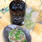 Gin Tonic Foodpairing – Filliers dry gin 28 – Carpaccio van venkel