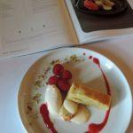 Pistachebrownie met frambozen – De Gastentafel – Michaël Vrijmoed