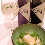 Biercée GIN – Less is more – In olijfolie gekonfijte schelvis met een Belgische salade