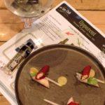 Uppercut gin – Gemarineerde bieten met mousse van konijn