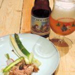 Tartaar van kalfsvlees met asperges – Bierpairing: La Chouffe Soleil