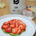 Aardbei – avocado – vlierbloesem & PJ Elderflower Gin