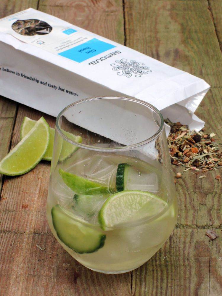 Virgin Gin And Tonic Recipe — Dishmaps