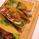 Thai beef taco's – Mexican street food