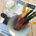 Meyer's Gin M2 – Gebakken asperges met Belgische ham