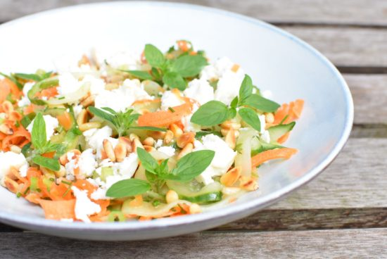wortel komkommer salade 3