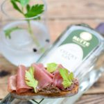 Rutte Celery Dry Gin - Bruschetta - Tapenade olijf - Iberico Ham