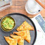 Elephant gin – Samosa met mosselen, ananas en avocado