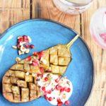 Baldwin's gin – Aubergine – Yoghurt – Granaatappel