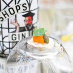 Bishop's gin - Hostie - Crème van wortel - Oost-Indische kers
