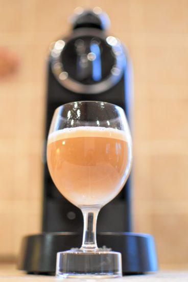 Chai masala coffee - Nespresso Indriya