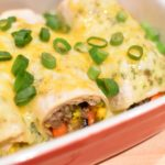Tex Mex: Enchilada met lamsgehakt en koriander