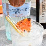 Le Tribute gin – Smokey gin tonic cocktail