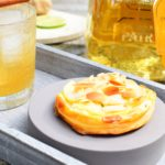 Cocktail: Patron Tequila Anejo – Bladerdeeggebakje met appel