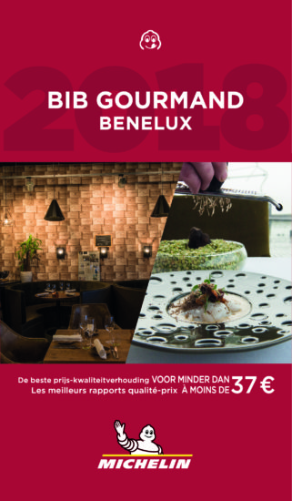 Bib Gourmand 2018 - Vlaanderen - Michelin