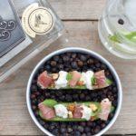 Gemblue Gin – Fingerfood – Komkommer – Mozzarella