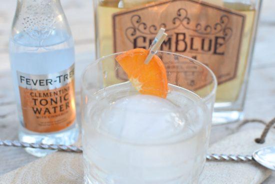 GemBlue Barrel Gin - Tortilla met gerookte eend