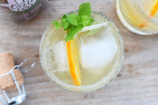 Mocktail: True Tea Alpine spritz met 0% bubbels