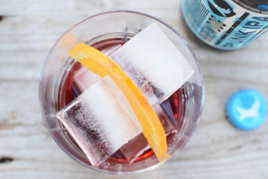 Vermouth cocktails - Vesper Martini & Americano IPA