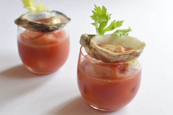 Bloody mary: Tomaat - Wodka - Worcestersaus